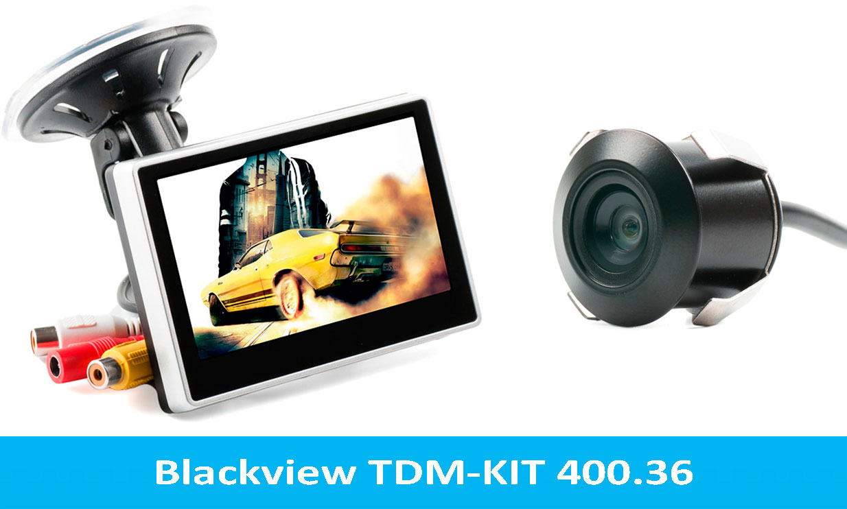 Монитор + камера blackview tdm-kit 400.36